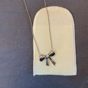 James Avery Retired Bow Necklace